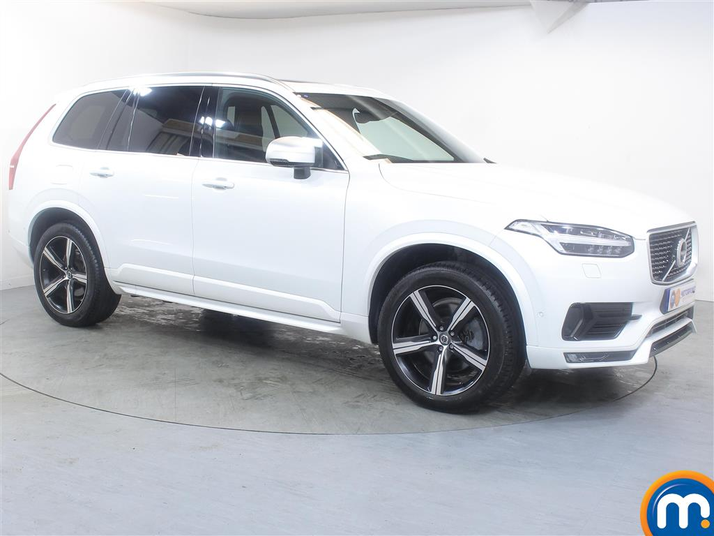 Volvo Xc90 R Design Automatic Diesel 4X4 - Stock Number (983364) - Drivers side front corner
