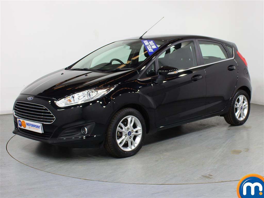 Ford Fiesta Zetec - Stock Number (1000425) - Passenger side front corner