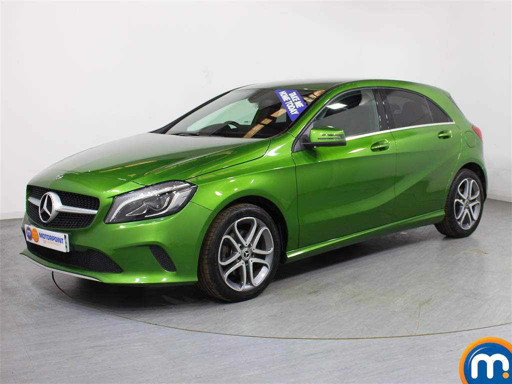 Mercedes-Benz A Class Sport Edition - Stock Number (988297) - Passenger side front corner
