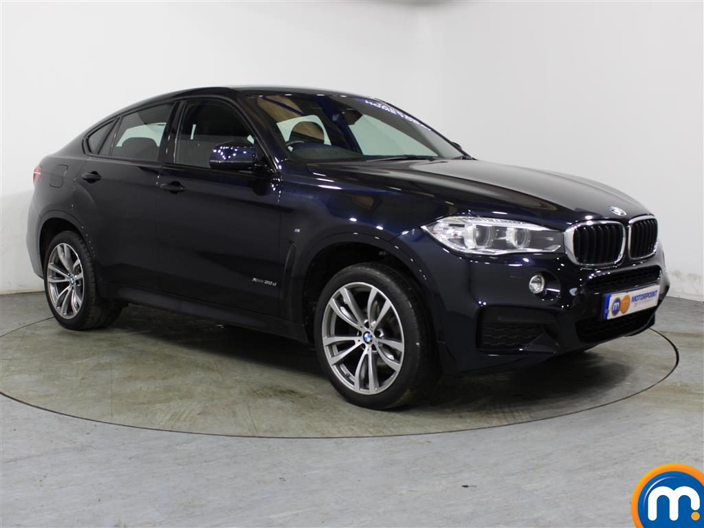 BMW X6 M Sport Automatic Diesel Estate - Stock Number (989585) - Drivers side front corner