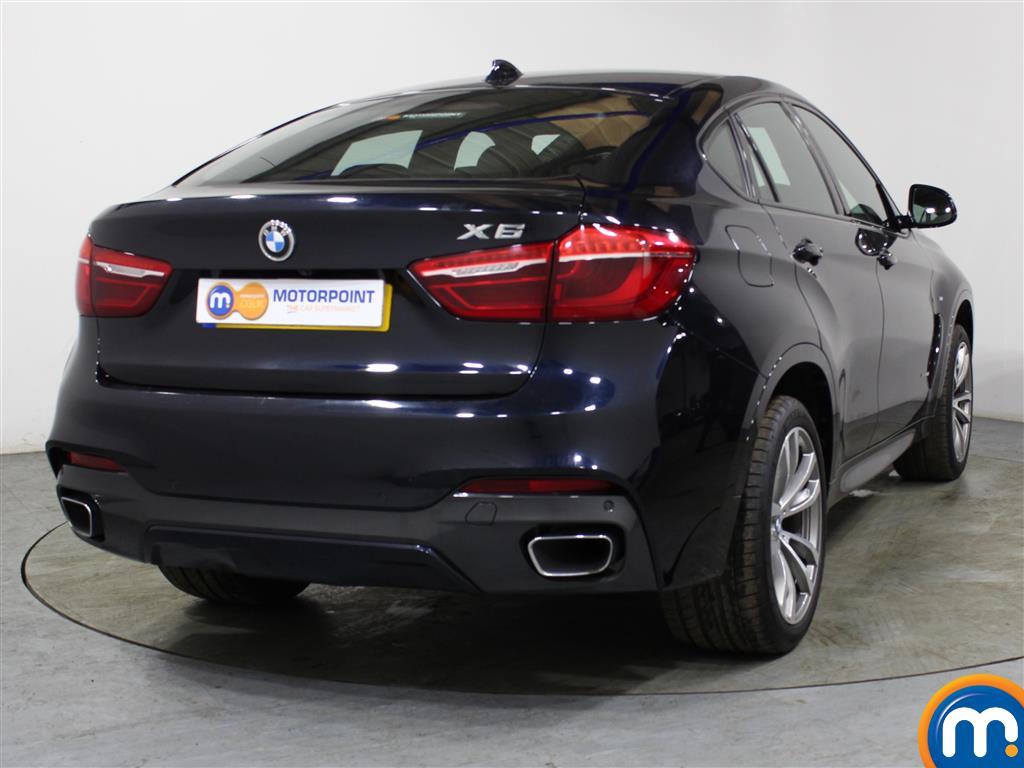 BMW X6 M Sport Automatic Diesel Estate - Stock Number (989585) - Rear bumper