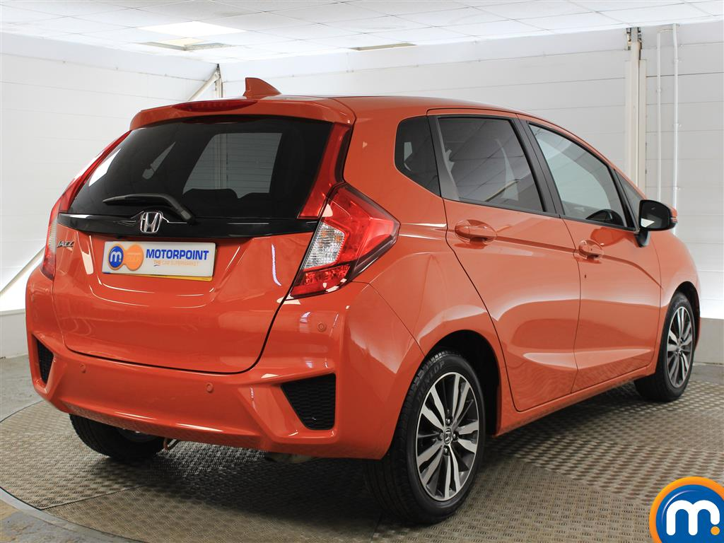 Honda Jazz EX Manual Petrol Hatchback - Stock Number (997570) - Rear bumper