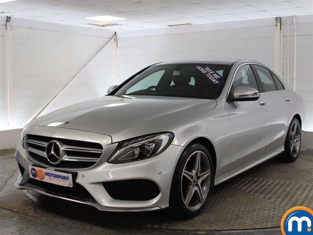 Mercedes-Benz C Class AMG Line - Stock Number (1003482) - Passenger side front corner