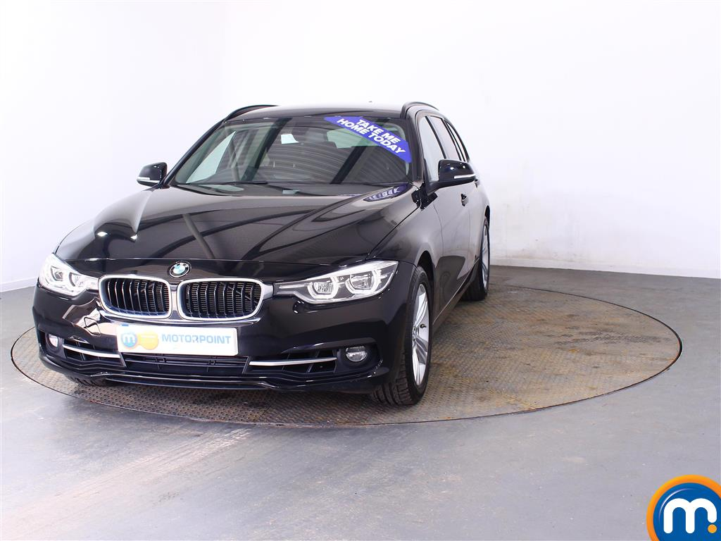 BMW 3 Series Sport Automatic Petrol Estate - Stock Number (998310) - Front bumper