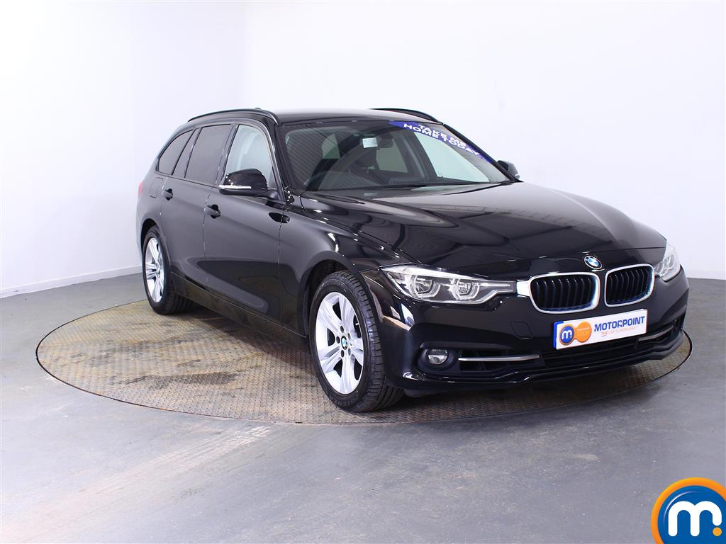 BMW 3 Series Sport Automatic Petrol Estate - Stock Number (998310) - Drivers side front corner
