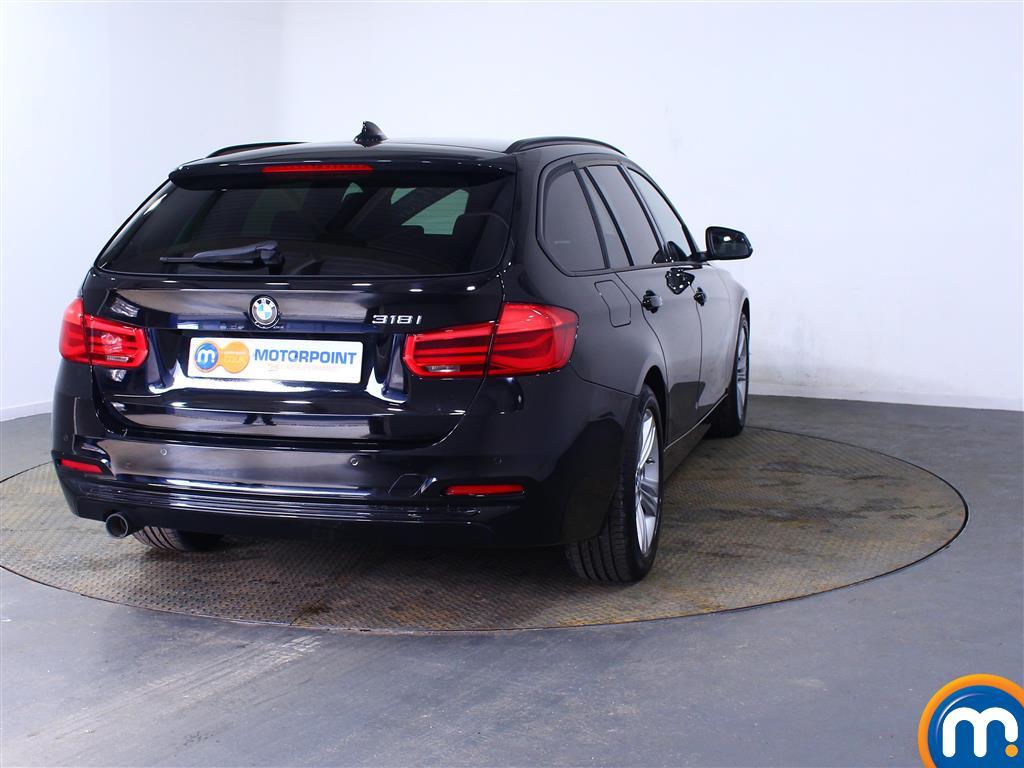 BMW 3 Series Sport Automatic Petrol Estate - Stock Number (998310) - Rear bumper