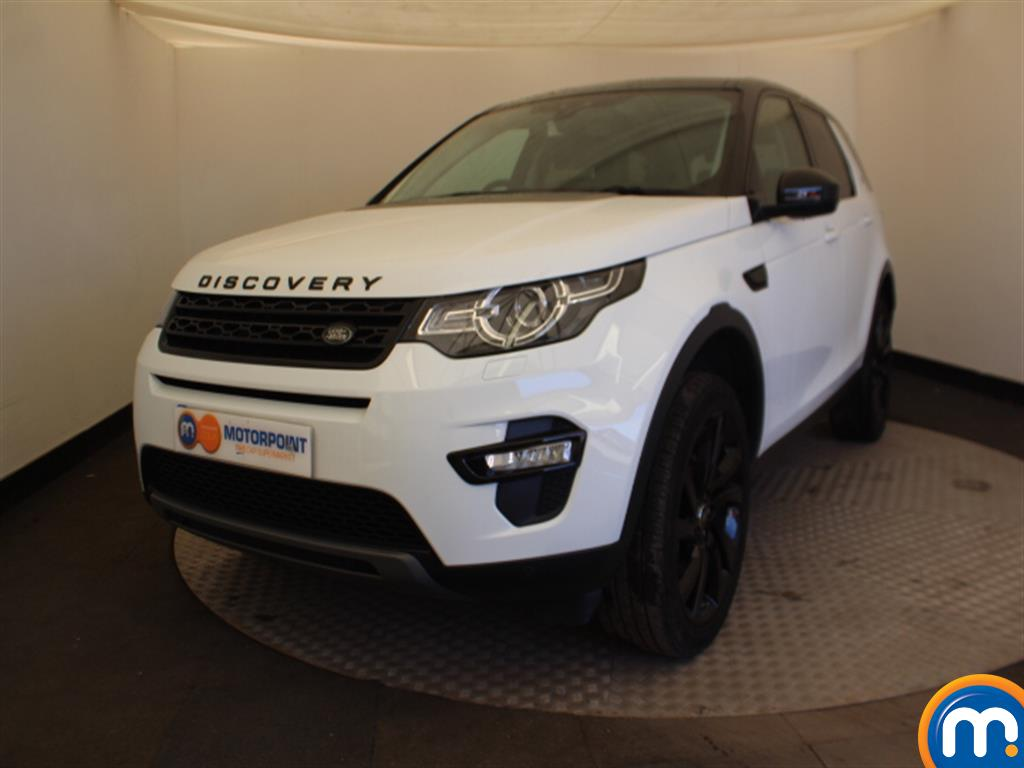 Land Rover Discovery Sport HSE Black - Stock Number (1000435) - Passenger side front corner
