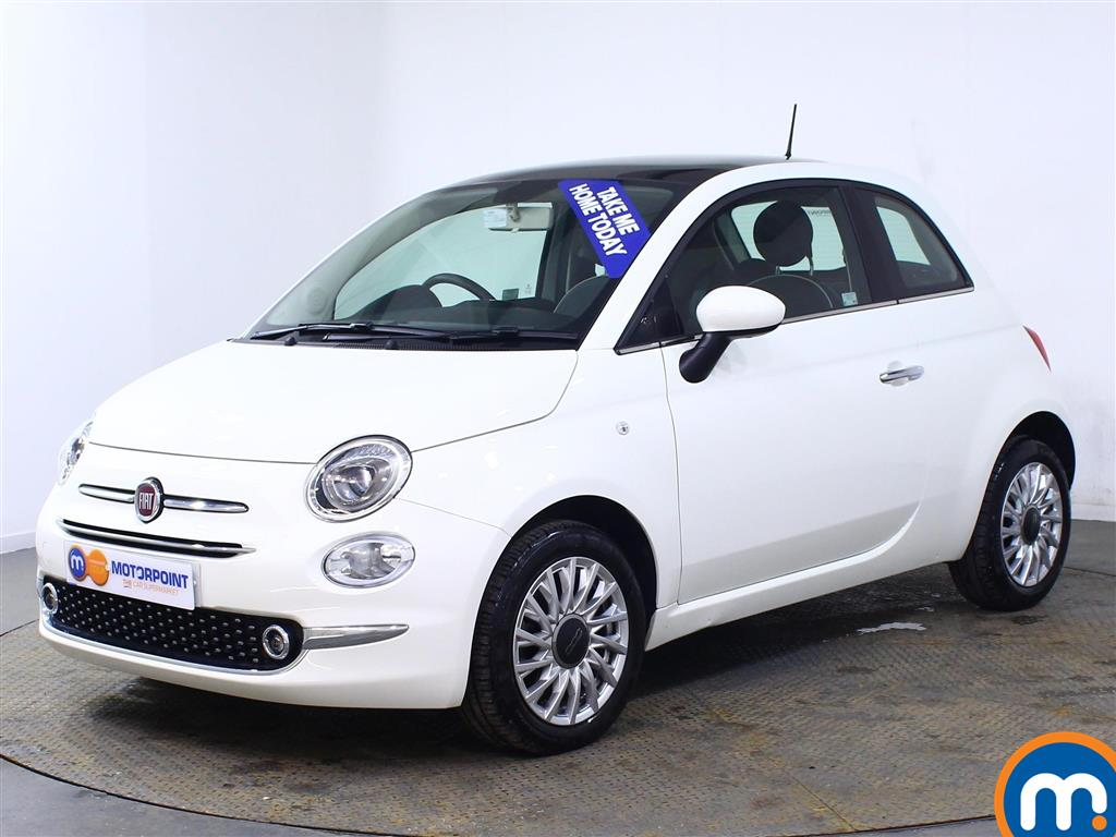 Fiat 500 Lounge - Stock Number (1003248) - Passenger side front corner
