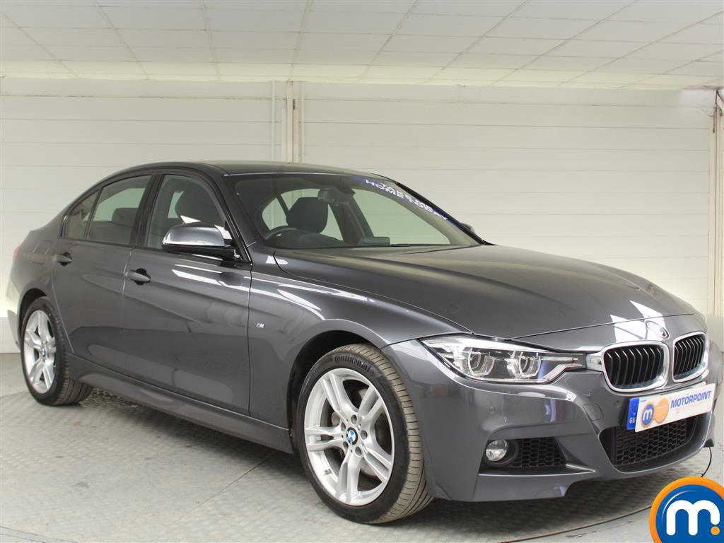 BMW 3 Series M Sport Automatic Diesel Saloon - Stock Number (994919) - Drivers side front corner
