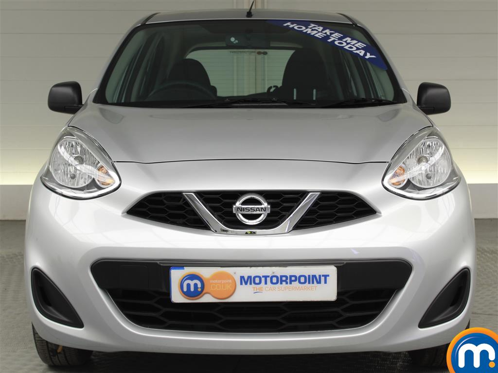 Nissan Micra Vibe Manual Petrol Hatchback - Stock Number (996957) - Front bumper