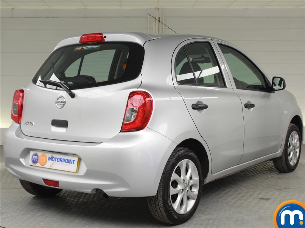 Nissan Micra Vibe Manual Petrol Hatchback - Stock Number (996957) - Drivers side rear corner