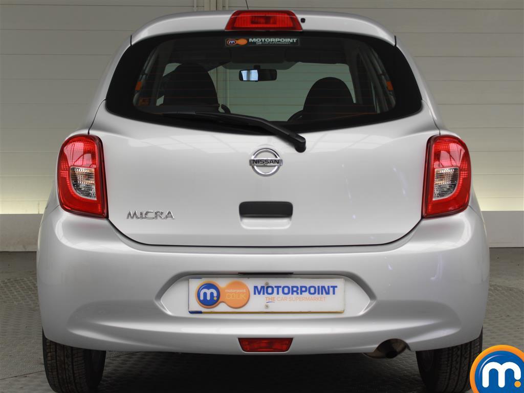 Nissan Micra Vibe Manual Petrol Hatchback - Stock Number (996957) - Rear bumper