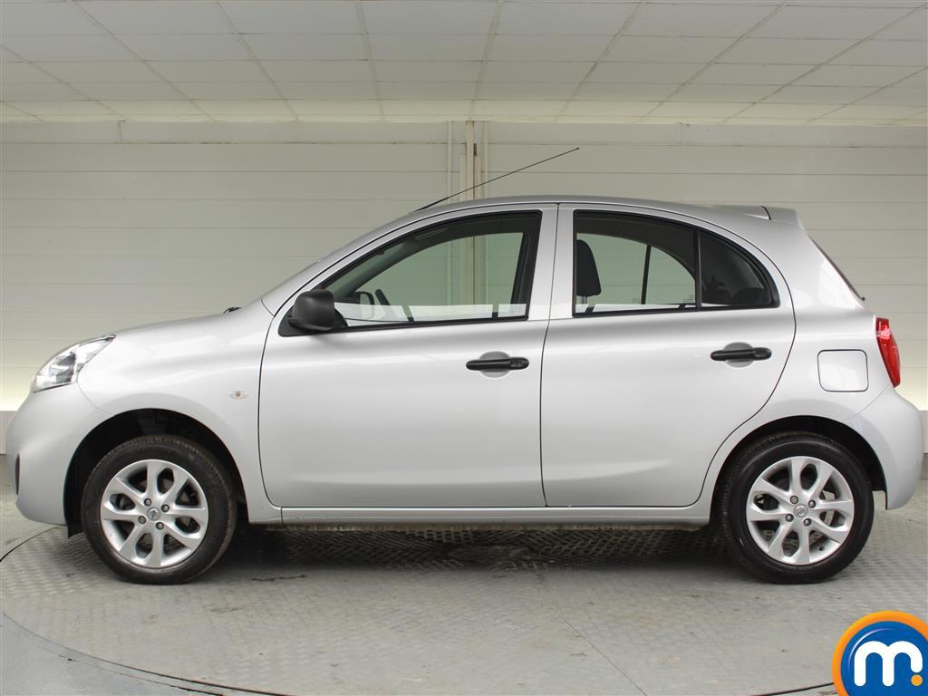 Nissan Micra Vibe Manual Petrol Hatchback - Stock Number (996957) - Passenger side