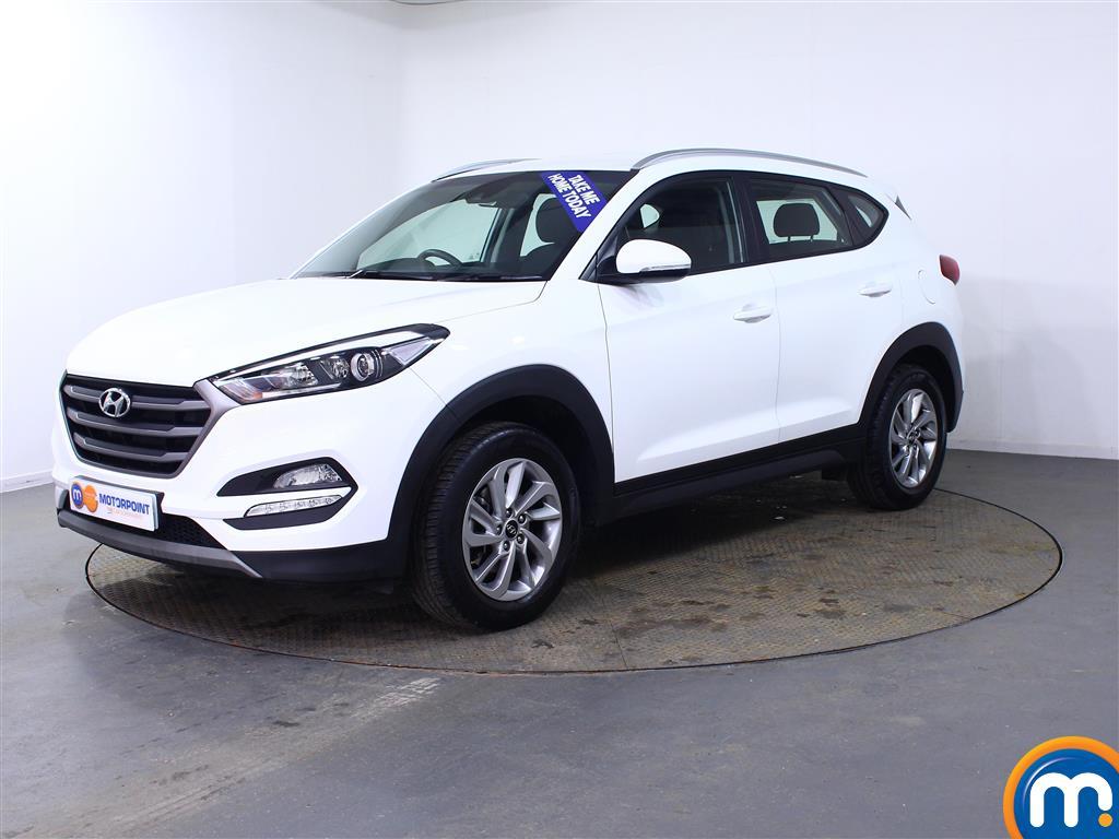 Hyundai Tucson SE - Stock Number (1001571) - Passenger side front corner
