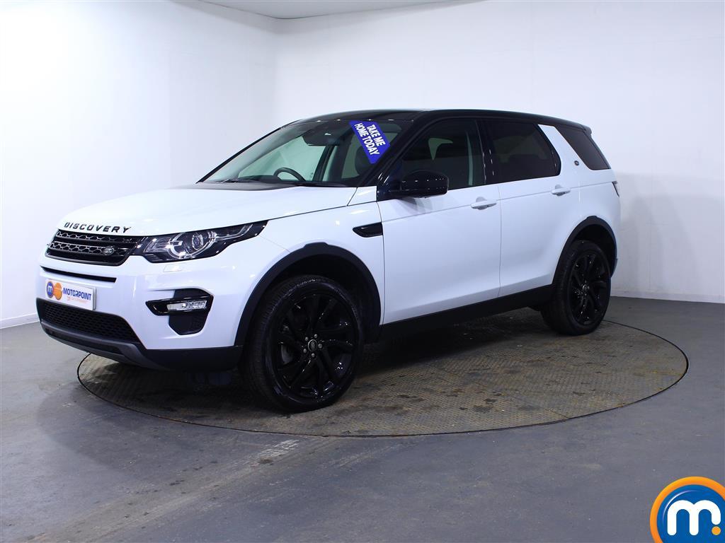 Land Rover Discovery Sport HSE Black - Stock Number (998674) - Passenger side front corner