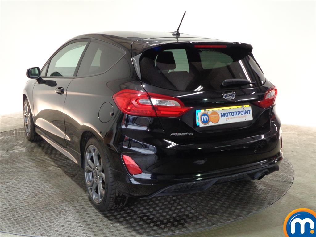 Ford Fiesta St-Line X Manual Petrol Hatchback - Stock Number (987452) - Passenger side rear corner
