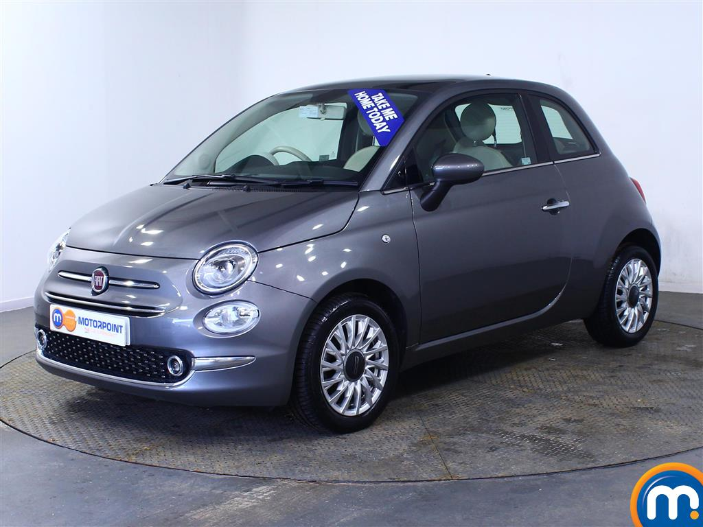 Fiat 500 Lounge - Stock Number (1003924) - Passenger side front corner