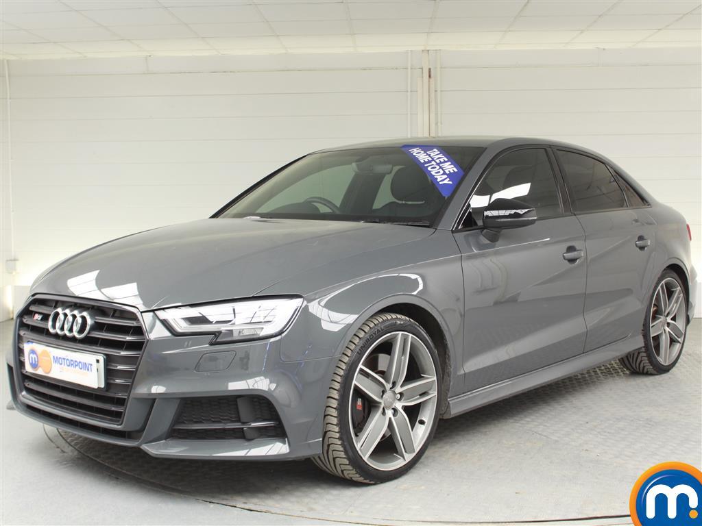 Audi A3 S3 Black Edition - Stock Number (998513) - Passenger side front corner
