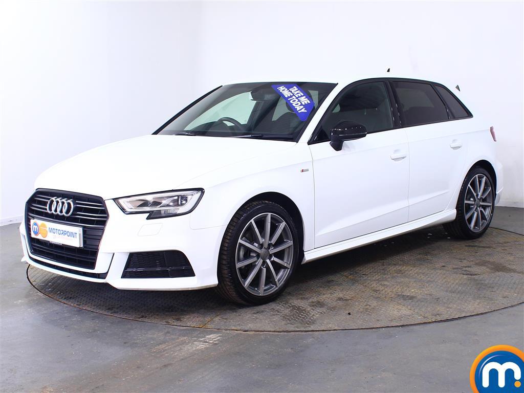 Audi A3 Black Edition - Stock Number (999298) - Passenger side front corner