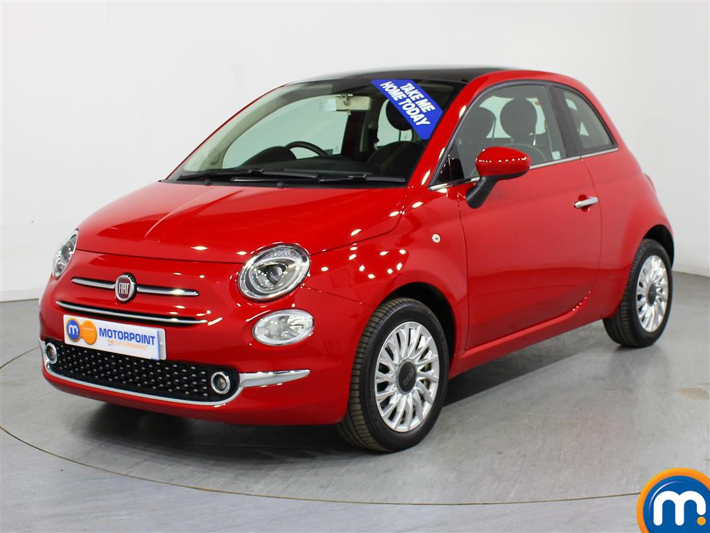 Fiat 500 Lounge - Stock Number (1003256) - Passenger side front corner