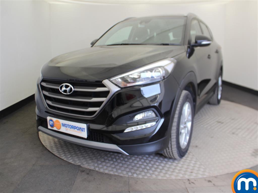 Hyundai Tucson SE - Stock Number (1001636) - Passenger side front corner