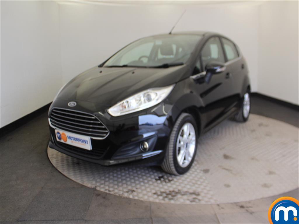 Ford Fiesta Zetec - Stock Number (999265) - Passenger side front corner
