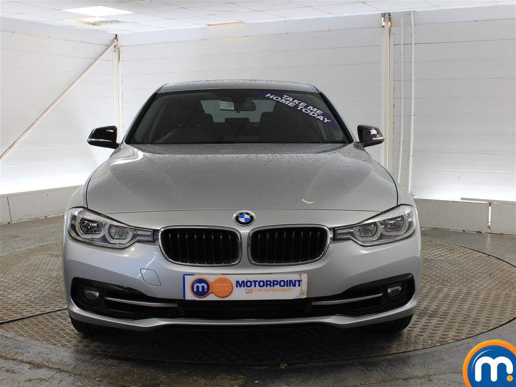 BMW 3 Series Sport Automatic Petrol Saloon - Stock Number (998855) - Front bumper