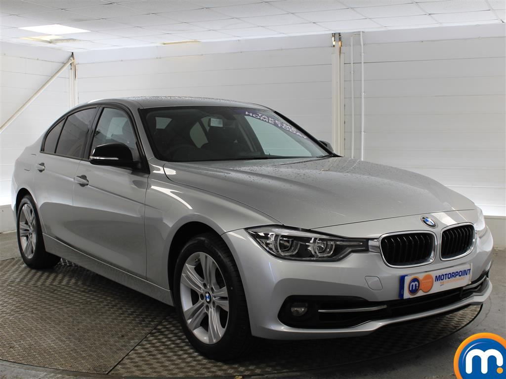 BMW 3 Series Sport Automatic Petrol Saloon - Stock Number (998855) - Drivers side front corner