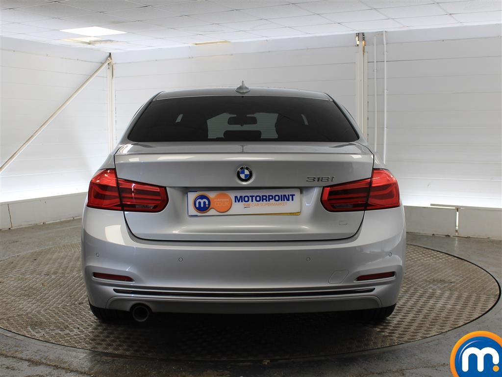 BMW 3 Series Sport Automatic Petrol Saloon - Stock Number (998855) - Rear bumper