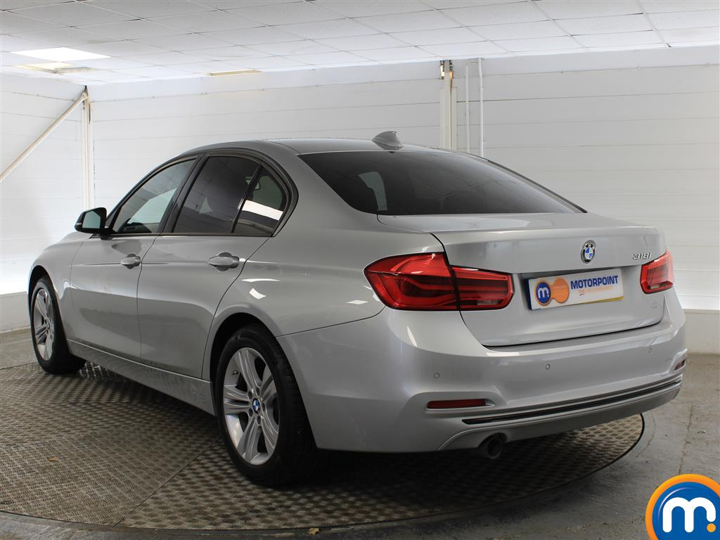 BMW 3 Series Sport Automatic Petrol Saloon - Stock Number (998855) - Passenger side rear corner