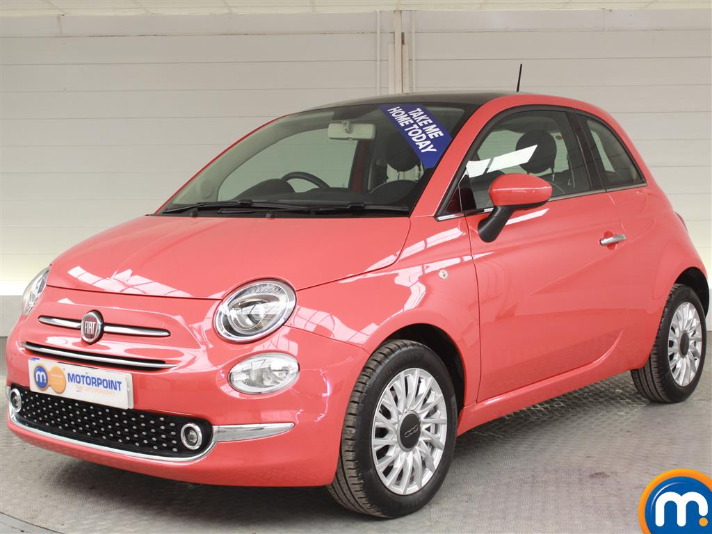 Fiat 500 Lounge - Stock Number (1000874) - Passenger side front corner