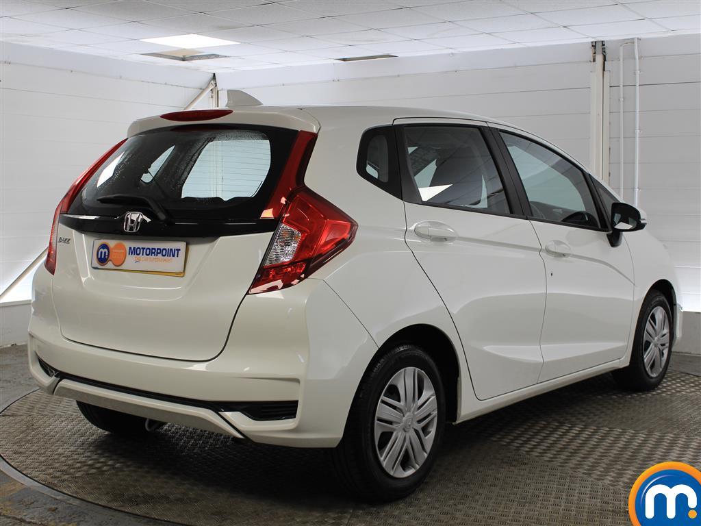 Honda Jazz S Manual Petrol Hatchback - Stock Number (1005437) - Drivers side rear corner