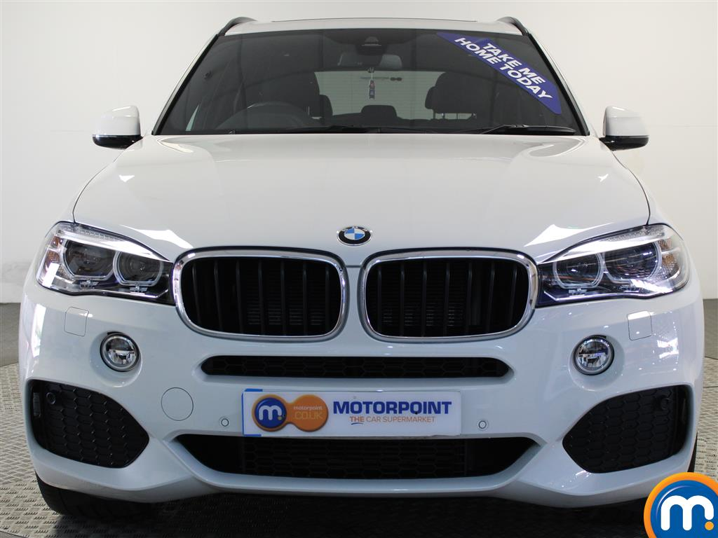 BMW X5 M Sport Automatic Diesel 4X4 - Stock Number (999327) - Front bumper