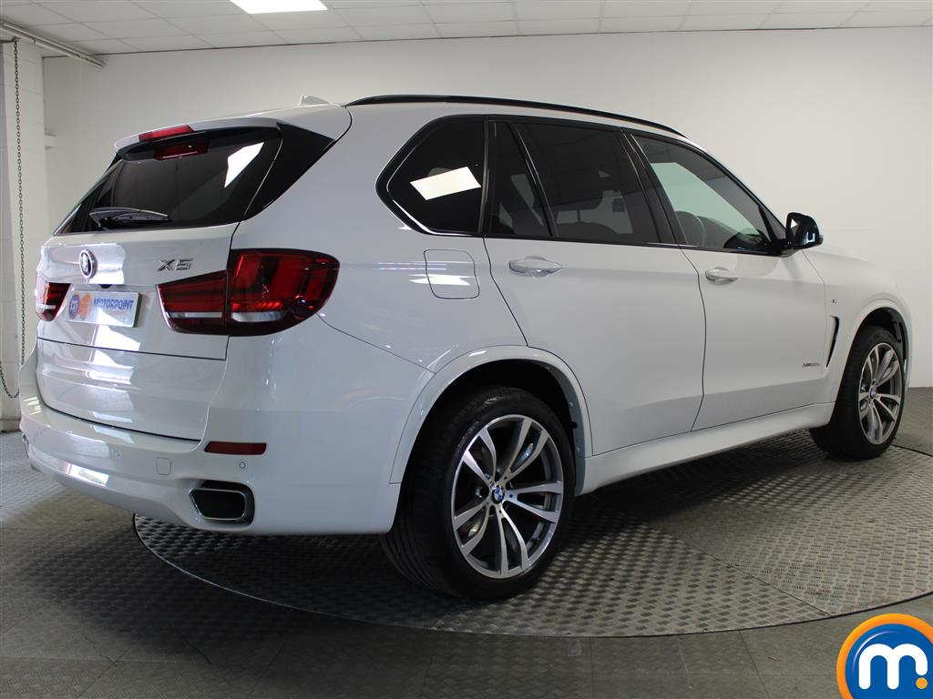 BMW X5 M Sport Automatic Diesel 4X4 - Stock Number (999327) - Drivers side rear corner