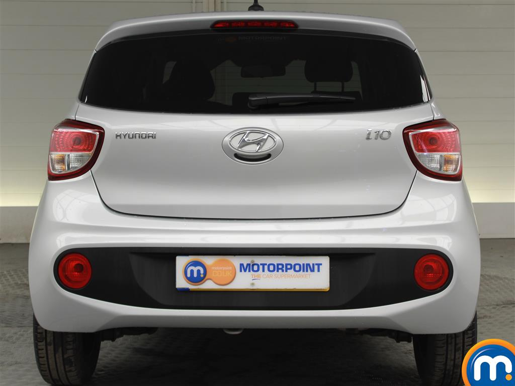 Hyundai I10 Premium Manual Petrol Hatchback - Stock Number (996812) - Rear bumper