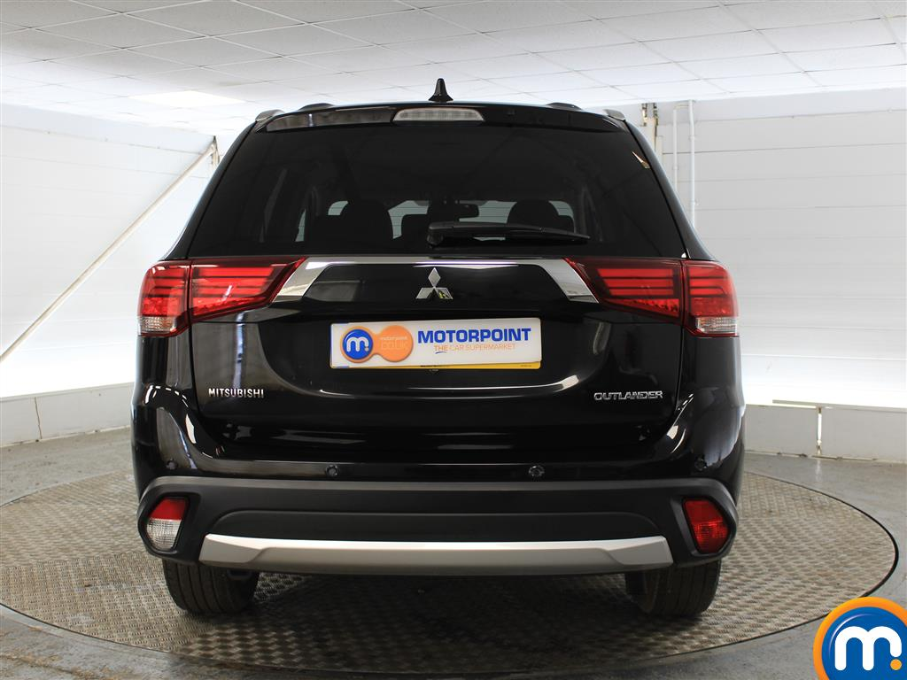 Mitsubishi Outlander 3 Automatic Diesel 4X4 - Stock Number (1003439) - Rear bumper