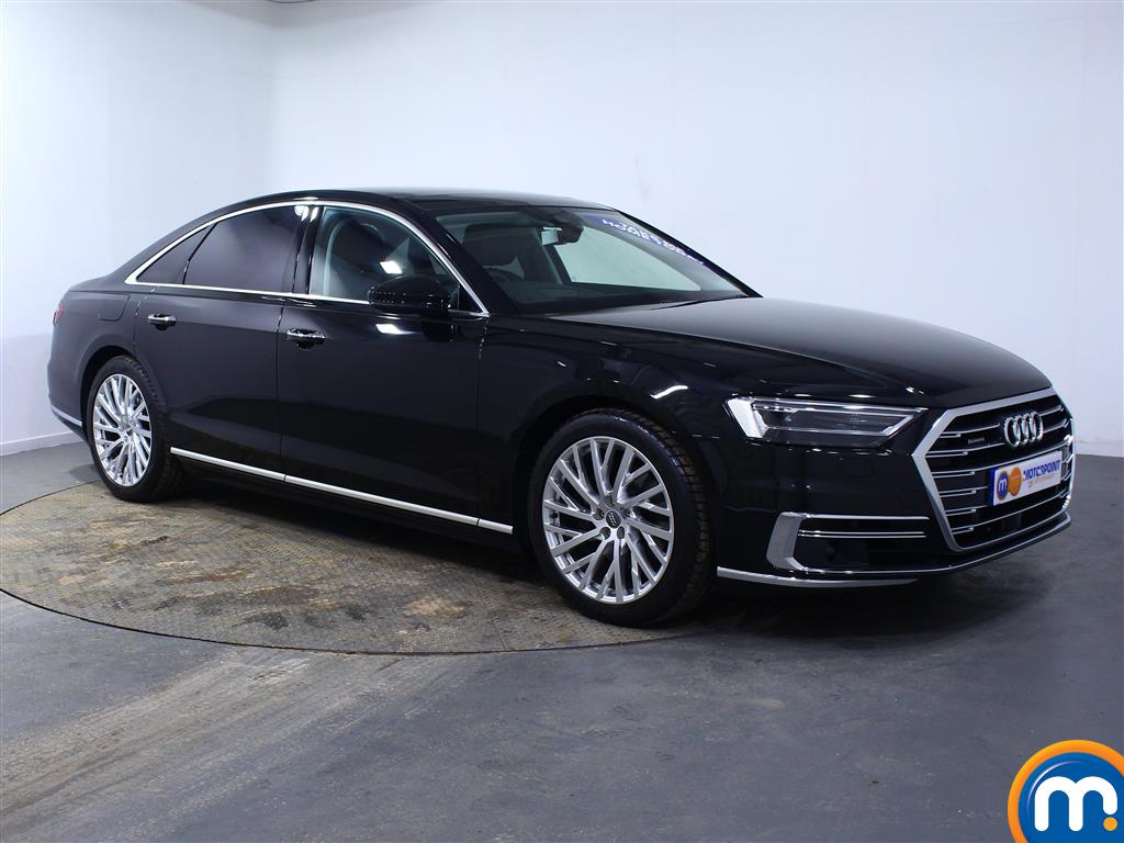 Audi A8 50 Tdi Quattro 4Dr Tiptronic Automatic Diesel Saloon - Stock Number (1003174) - Drivers side front corner