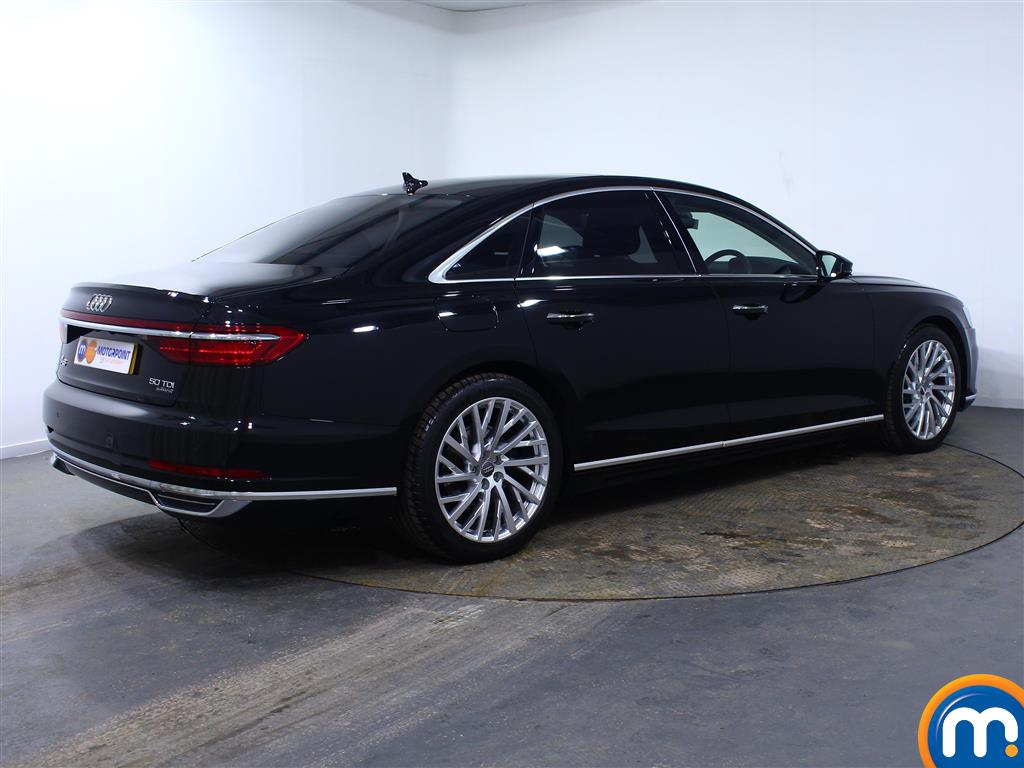 Audi A8 50 Tdi Quattro 4Dr Tiptronic Automatic Diesel Saloon - Stock Number (1003174) - Drivers side rear corner