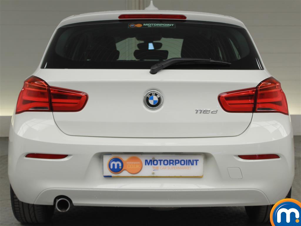 BMW 1 Series SE Manual Diesel Hatchback - Stock Number (994850) - Rear bumper