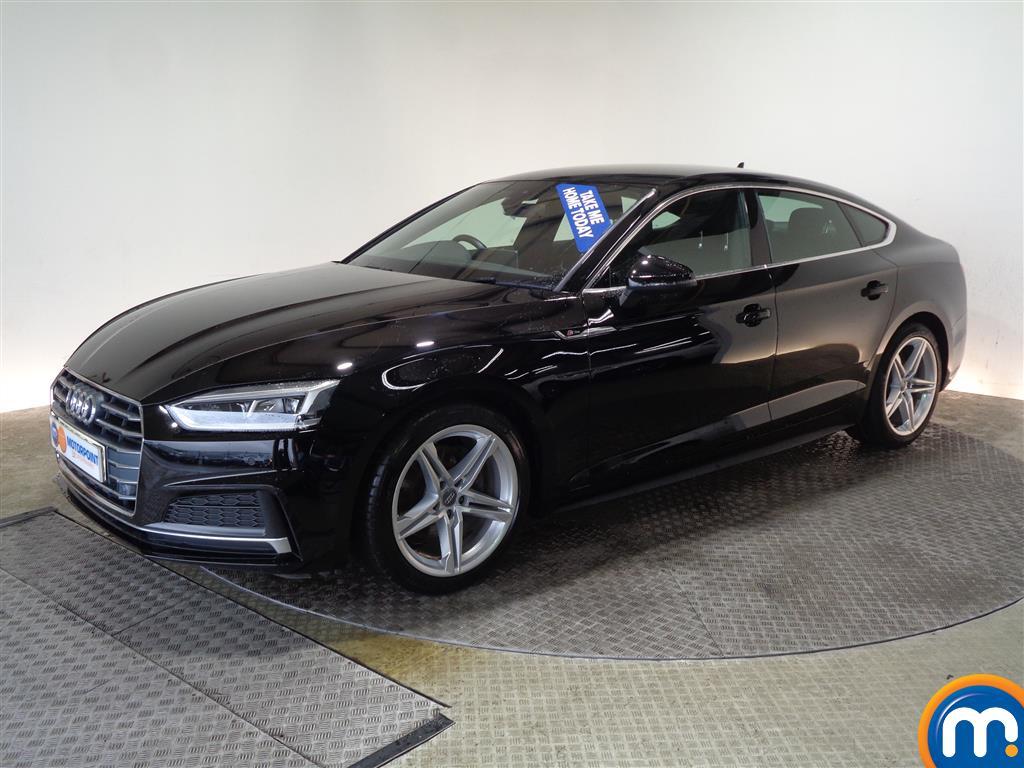 Audi A5 S Line - Stock Number (992541) - Passenger side front corner