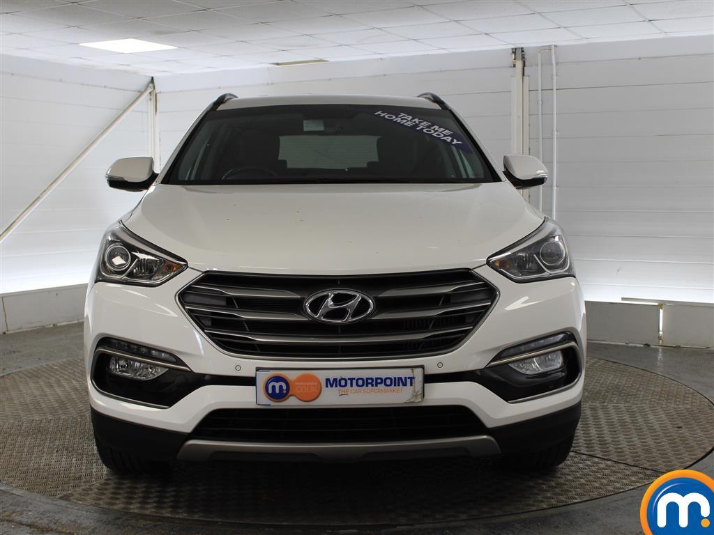 Hyundai Santa Fe Premium Manual Diesel 4X4 - Stock Number (1007121) - Front bumper