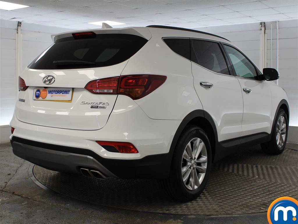 Hyundai Santa Fe Premium Manual Diesel 4X4 - Stock Number (1007121) - Drivers side rear corner