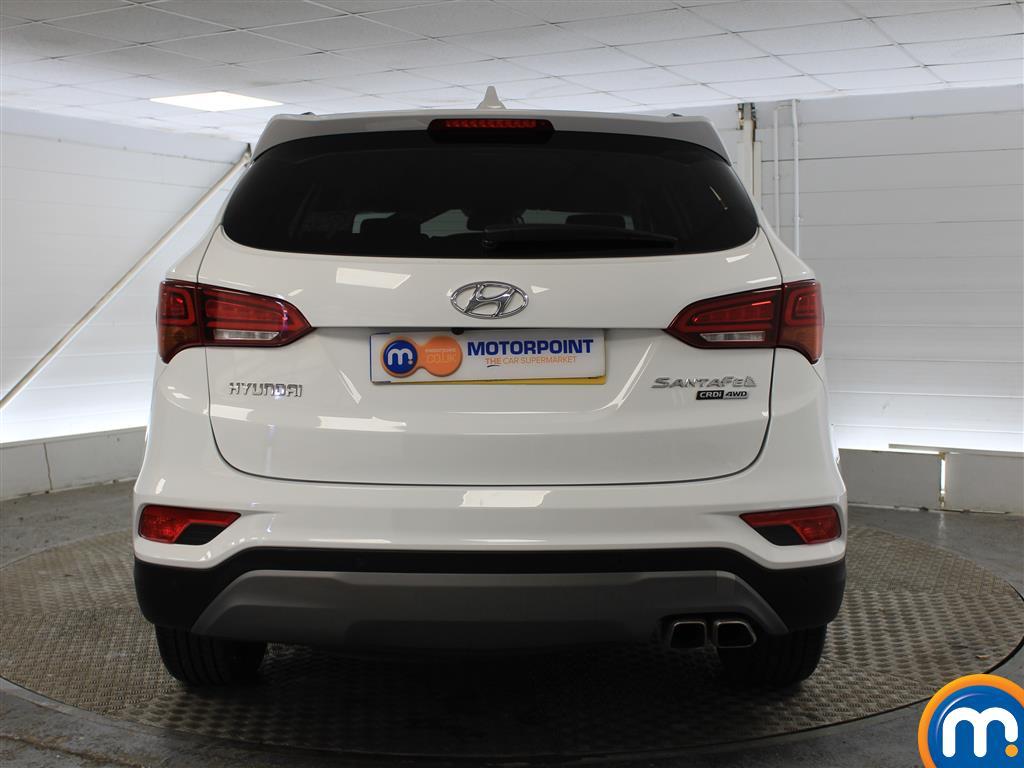 Hyundai Santa Fe Premium Manual Diesel 4X4 - Stock Number (1007121) - Rear bumper