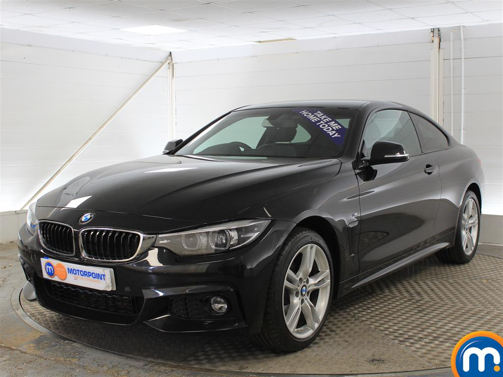 BMW 4 Series M Sport Automatic Petrol Coupe - Stock Number (1001345) - Passenger side front corner
