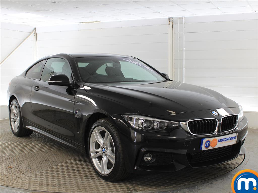 BMW 4 Series M Sport Automatic Petrol Coupe - Stock Number (1001345) - Drivers side front corner