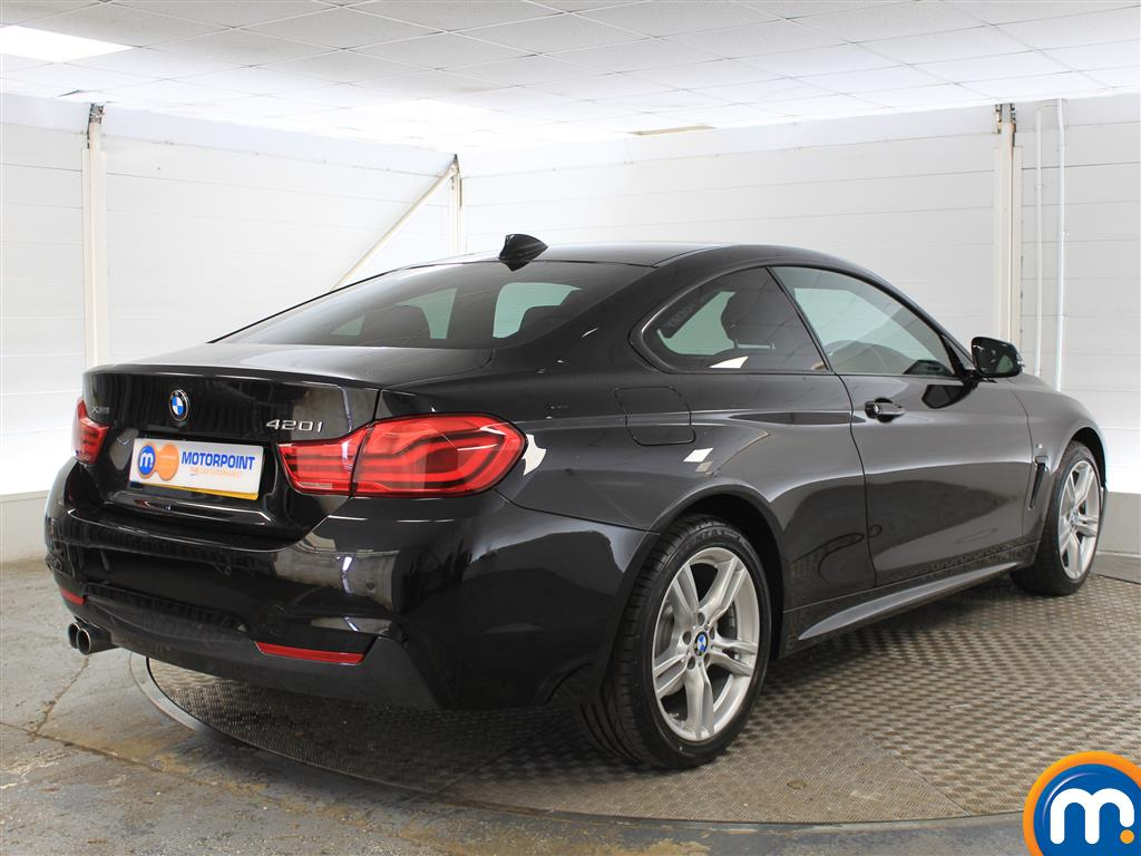 BMW 4 Series M Sport Automatic Petrol Coupe - Stock Number (1001345) - Drivers side rear corner