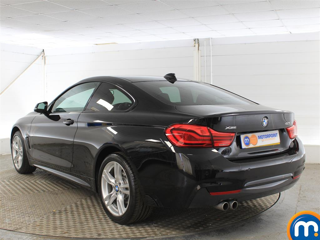 BMW 4 Series M Sport Automatic Petrol Coupe - Stock Number (1001345) - Passenger side rear corner