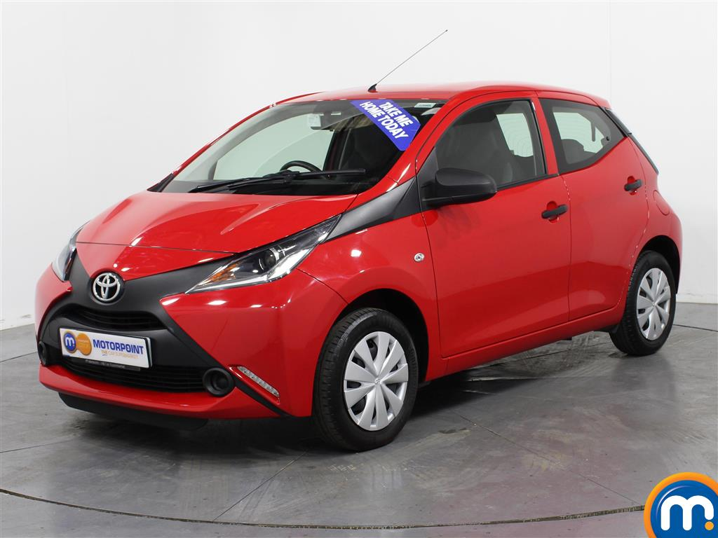 Toyota Aygo X - Stock Number (1001361) - Passenger side front corner