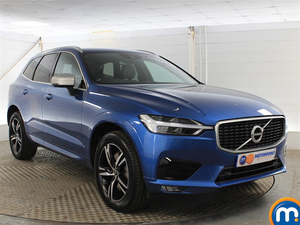 Volvo Xc60 R Design Automatic Diesel Estate - Stock Number (1004611) - Drivers side front corner