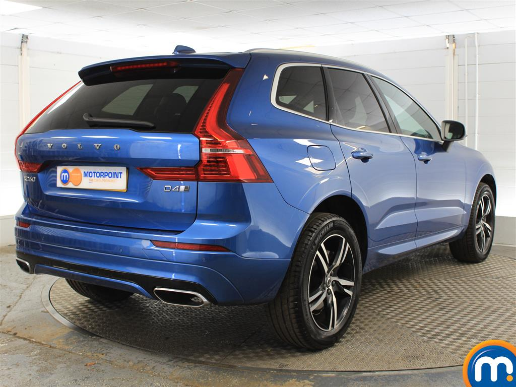 Volvo Xc60 R Design Automatic Diesel Estate - Stock Number (1004611) - Drivers side rear corner